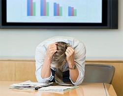 Небольшой стресс приводит к нетрудоспособности