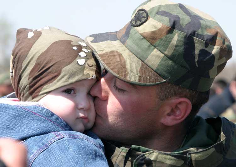 Дети военных более склонны к психическим расстройствам