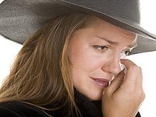 Слезы не дают облегчение и психологическую разгрузку