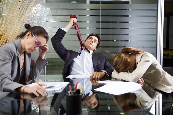 Боссы испытывают меньше стресса, чем их подчиненные
