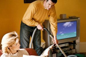 Помощь жене в хозяйстве укрепляет брак