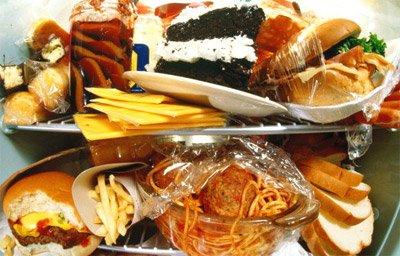 Употребление пищи с большим количеством жира вызывает усталость