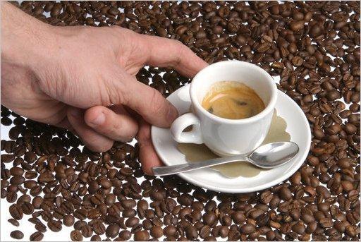 Запах кофе помогает мозгу справиться со стрессом