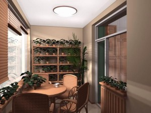 Зимний сад или увеличенная комната – все возможности балкона