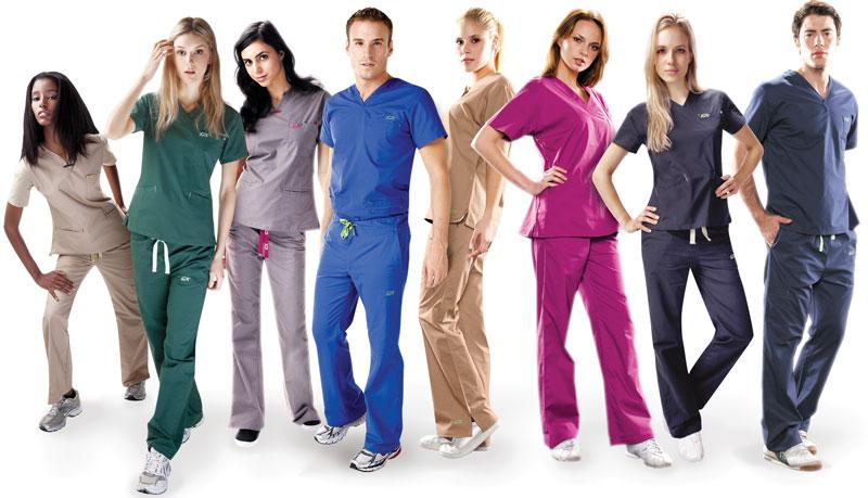 Красивая и практичная медицинская одежда