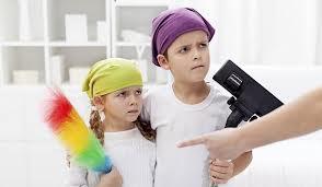 Ребенок и уборка в комнате
