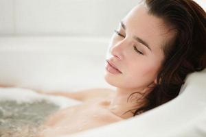 От депрессии спасет теплая ванна