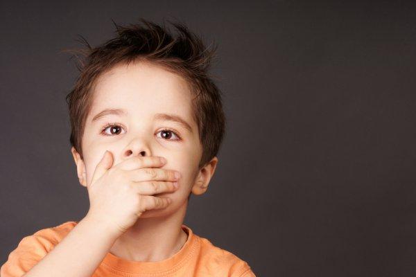 Грязные слова из уст младенца