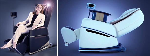 Массажное кресло Rolmand — подарит ощущение комфорта и лёгкости