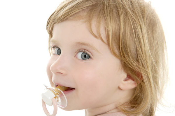 Отучение ребёнка от соски