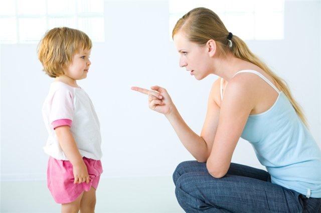 Кричать на детей или нет?