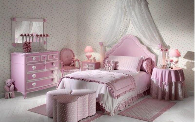 Вариант декорирования детской комнаты