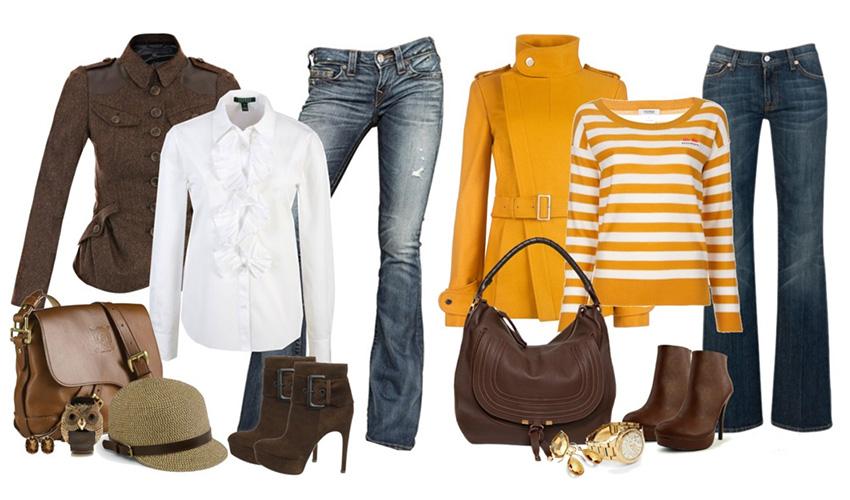 Сочетание одежды или как правильно носить одежду?