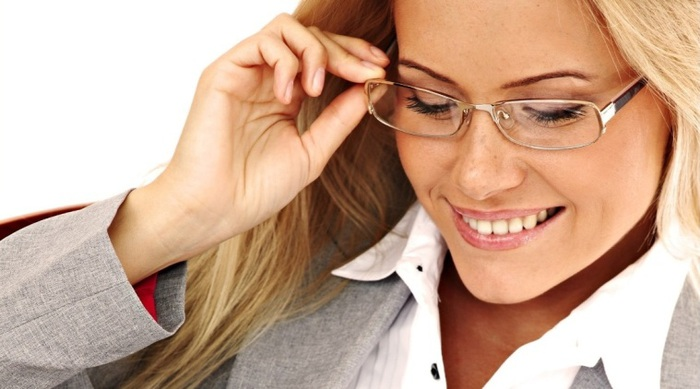 Беременность в очках