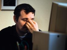 Синдром хронической усталости связали со зрительным стрессом
