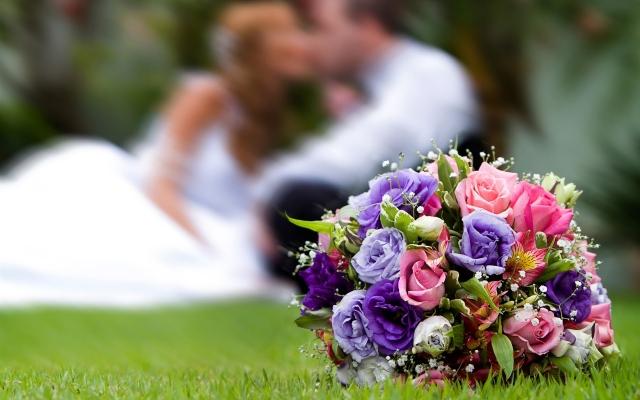 Свадебные цветы для разных сезонов
