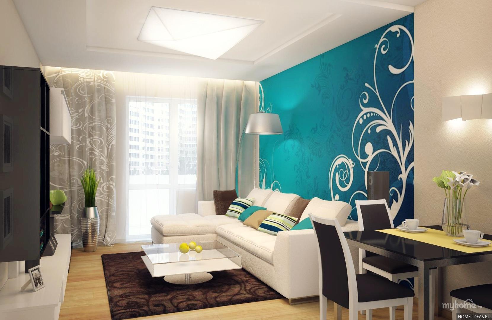 Как визуально увеличить пространство гостиной комнаты