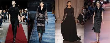 Модный тренд зимы 2016: Готика