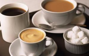 О характере человека расскажет кофе