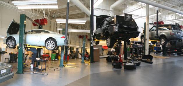 Особенности обслуживания авто «Land Rover»