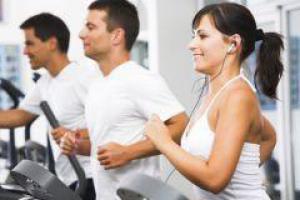 Интенсивные физические нагрузки поднимают настроение