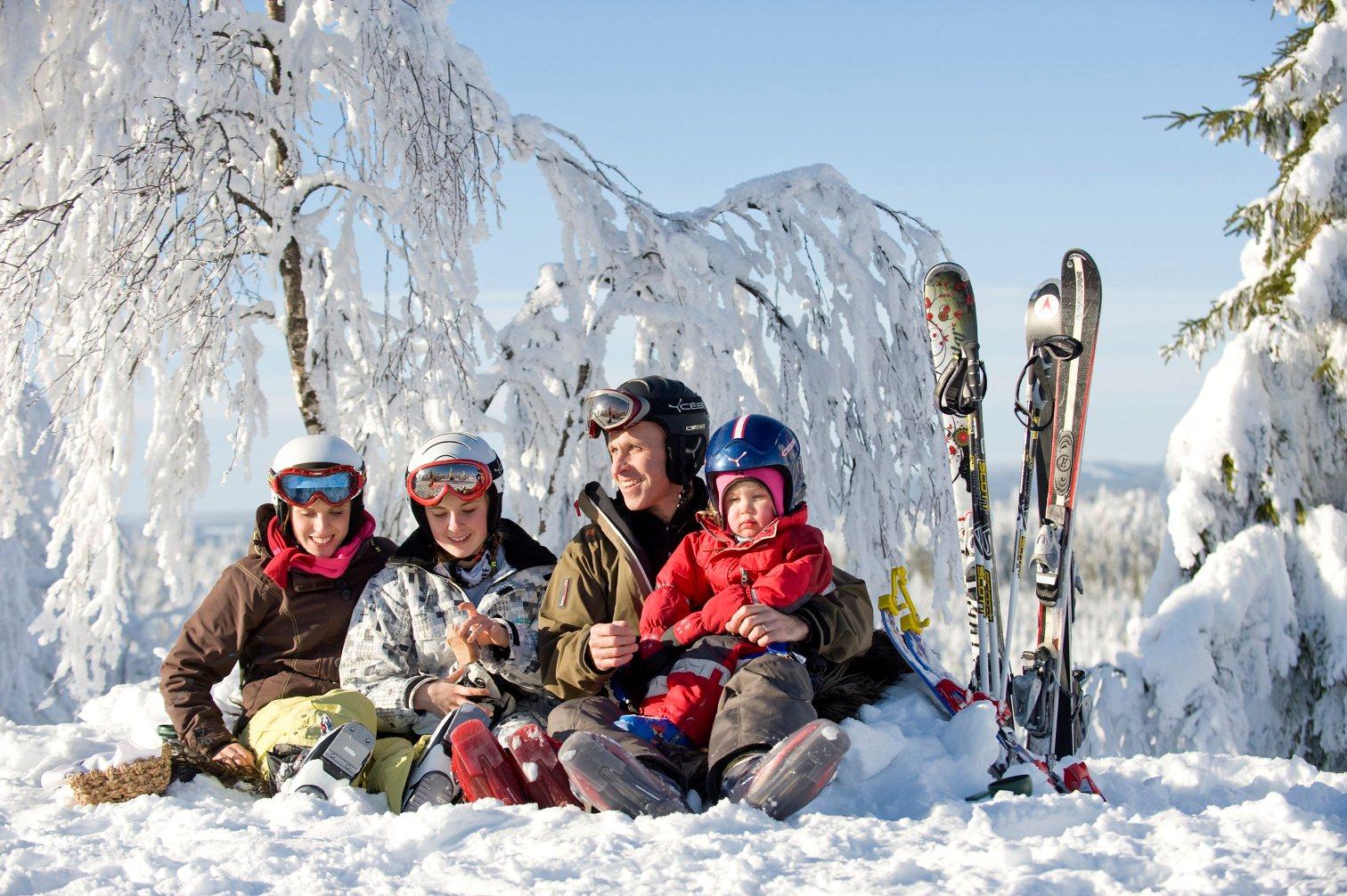 Россия зимой, куда поехать отдыхать