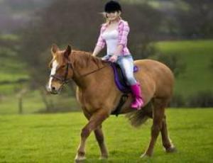Катание на лошади снижает уровень стресса