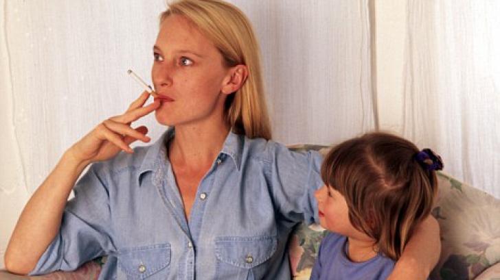 Дети курящих матерей будут принимать антидепрессанты