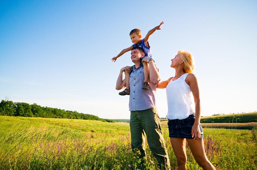 Люди, живущие в сельской местности, в восемь раз счастливее жителей крупных городов