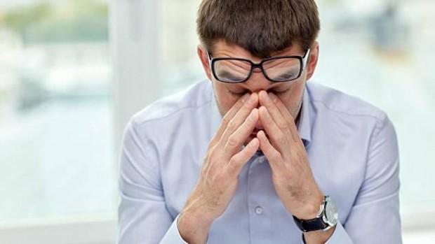 Сильный стресс может стать причиной слепоты