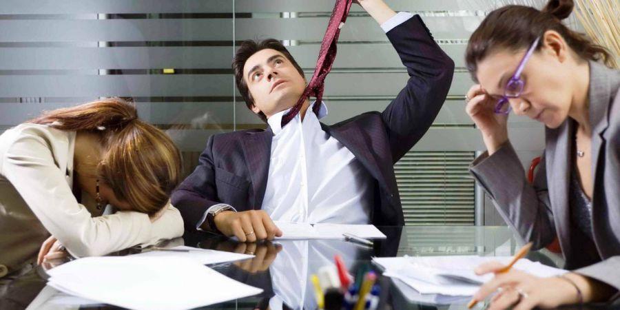 Стрессовая работа провоцирует рак у мужчин