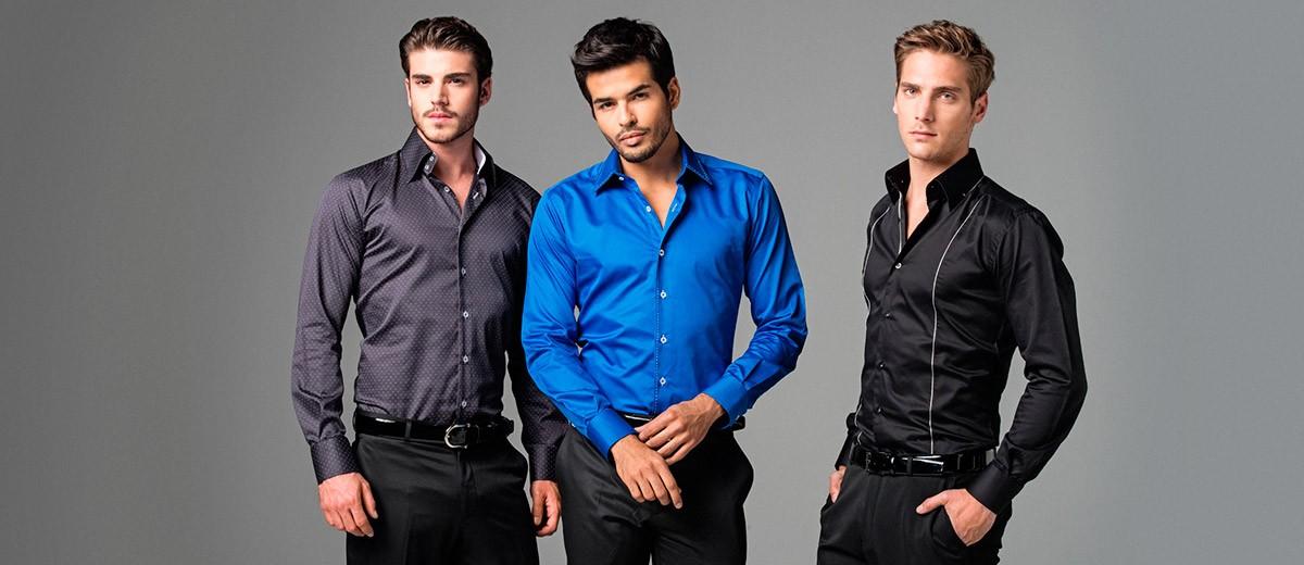 Мужская рубашка – просто и стильно