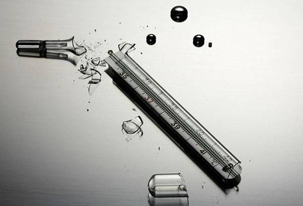 Разбитый термометр: чем опасна ртуть