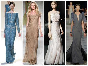 Стильные вечерние платья 2019