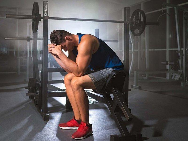 Одержимые спортзалом мужчины чаще страдают от депрессий