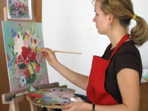 Занятия рисованием могут помочь справиться с переживаниями