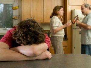 Алкоголизм родителей влияет на браки их детей