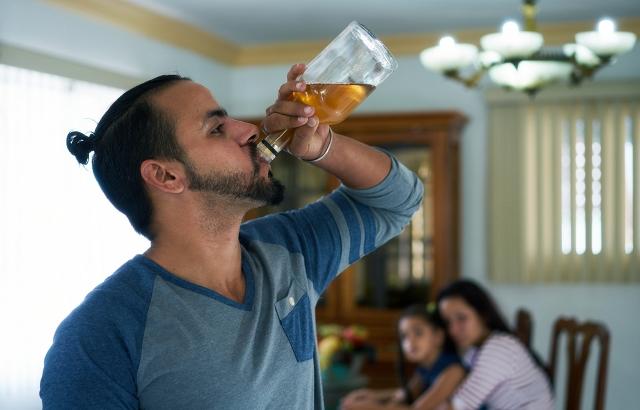 Алкоголизм: Последствия для семьи