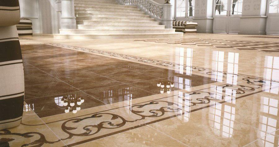 Керамогранитная плитка, ее достоинства и возможности использования в домашнем интерьере