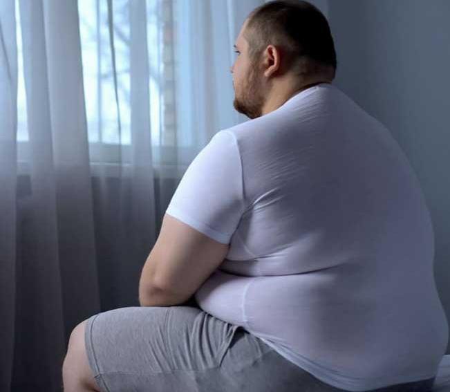 Люди с лишним весом подвержены депрессии больше остальных