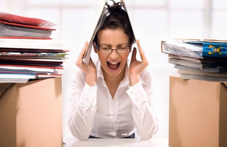 Стресс на работе может быть причиной депрессии и даже смерти