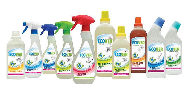 Широкий выбор экологически чистых средств для любых поверхностей