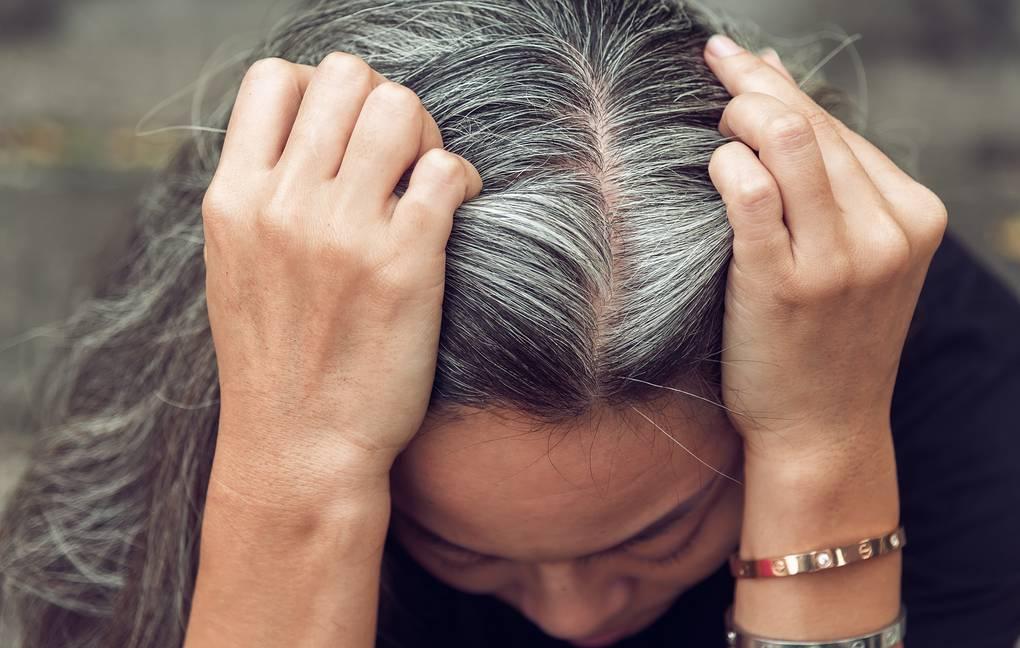 Открытие: седина может отступить при отсутствии стресса