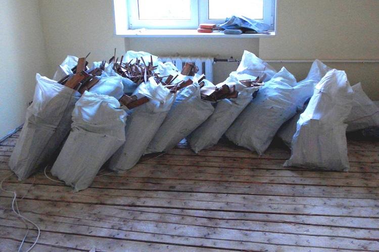 Вывоз мусора из квартир и домов
