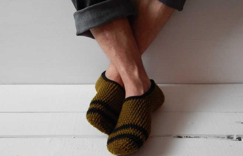 Домашняя обувь для мужчин
