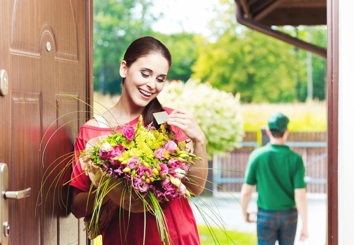 Сервис доставки всегда свежих цветов