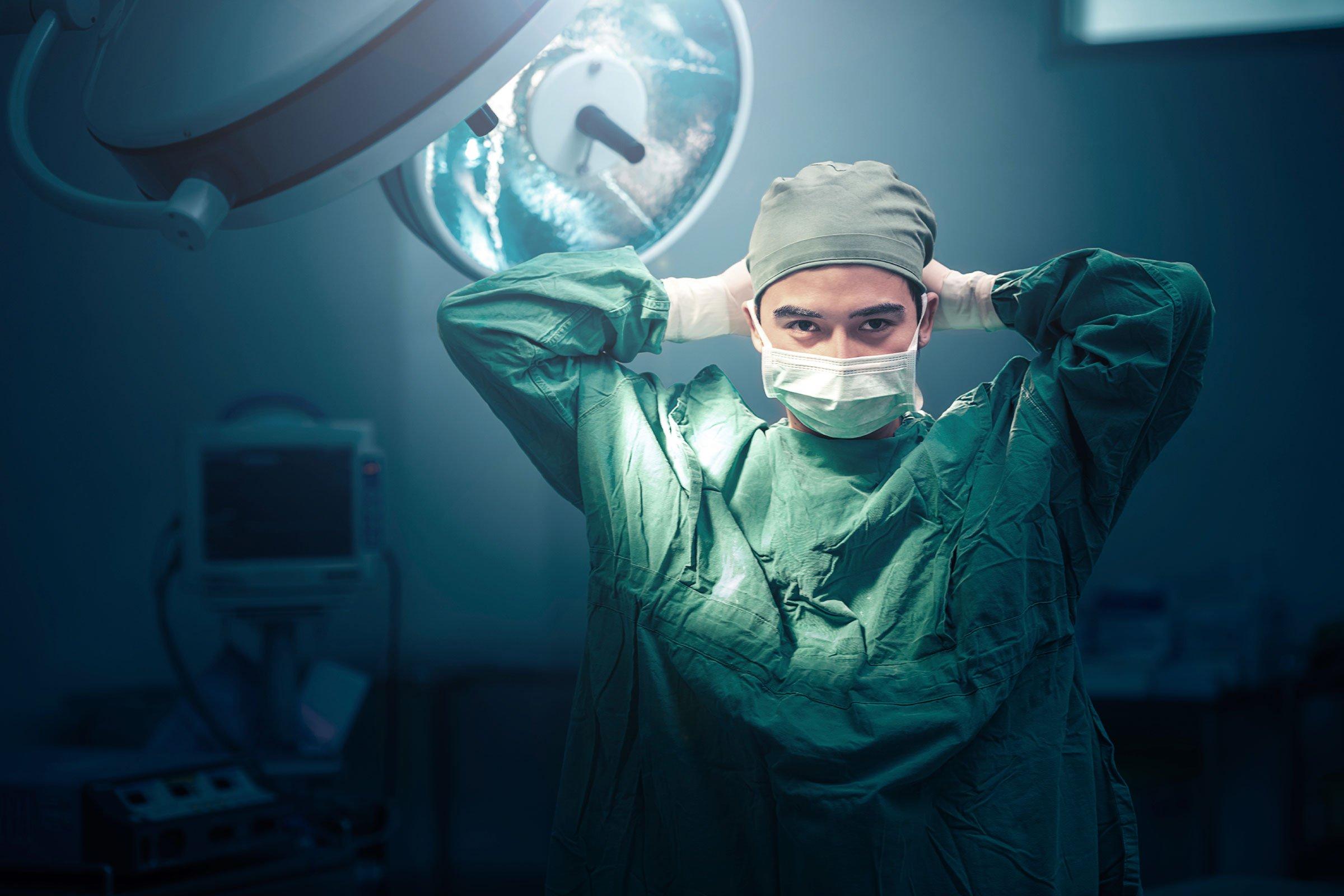 Посещение хирурга в клинике «Доступный DOCTOR»