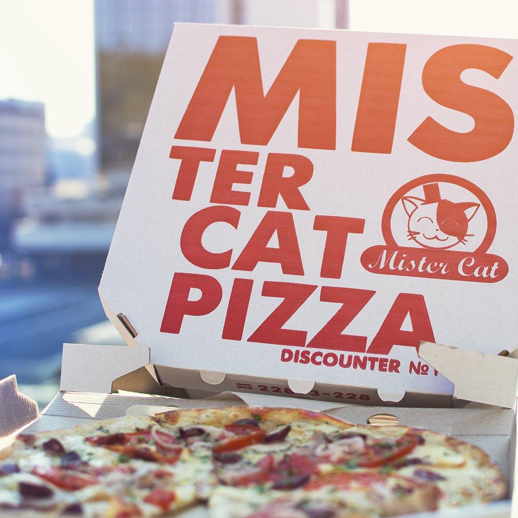 Выбираем пиццу в пиццерии Mister Cat