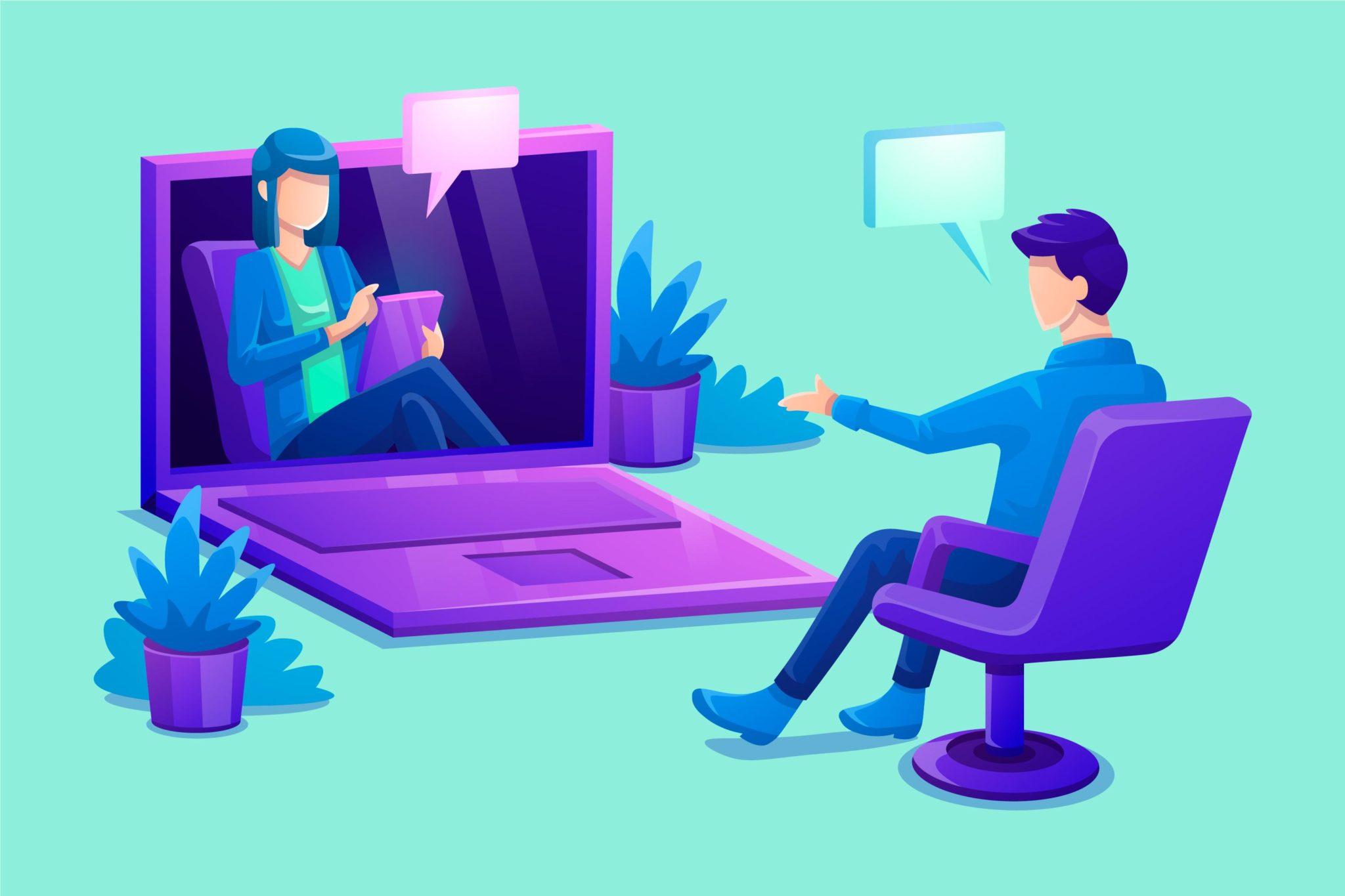 Получайте психологическую помощь онлайн
