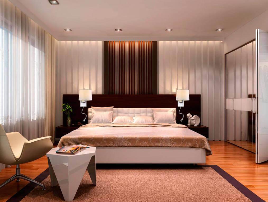 Каким должно быть освещение в спальне